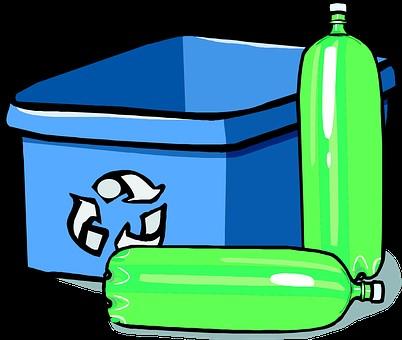 bouteille plastique recyclable