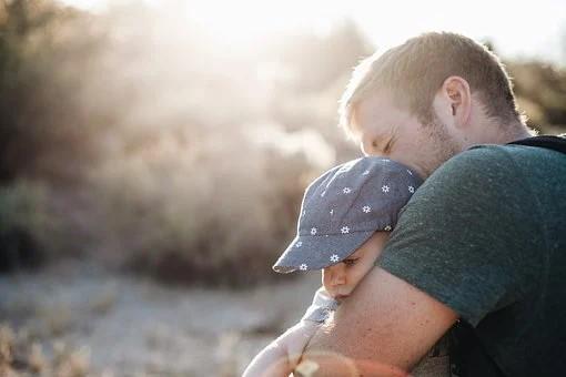 bebe et son père